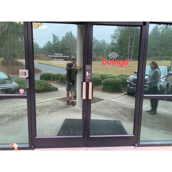 Window Decals, Signage & Graphics-BOINGO Window decal